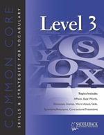 Common Core Skills and Strategies for Reading Level 3 - Saddleback Educational Publishing