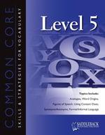 Common Core Skills and Strategies for Reading Level 5 - Saddleback Educational Publishing
