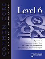 Common Core Skills and Strategies for Reading Level 6 - Saddleback Educational Publishing