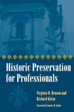 Historic Preservation for Professionals - Virginia Benson