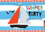 Summer Party Placemats : 10 Minute - Race Point Publishing