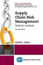 Supply Chain Risk Management - David L Olson