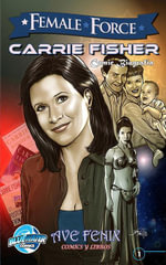 Female Force : Carrie Fisher (Spanish Edition) Vol.1 # 1 - C.W. Cooke
