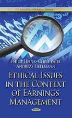Ethical Issues in the Context of Earnings Management - Philip Heinz