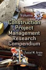 Construction Project Management : Volume 5