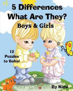5 Differences - What Are They? - Boys & Girls : Kids Series - Kimi Kimi