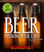 Beer Brewing Made Easy With Recipes (Boxed Set) : 3 Books In 1 Beer Brewing Guide With Easy Homeade Beer Brewing Recipes - Speedy Publishing