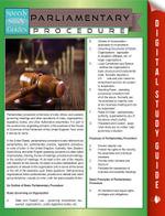 Parliamentary Procedure (Speedy Study Guides) - Speedy Publishing