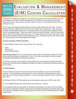Evaluation & Management (E/M) Coding Calculator (Speedy Study Guides) - Speedy Publishing