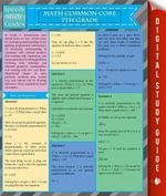 Math Common Core 7Th Grade (Speedy Study Guides) - Speedy Publishing