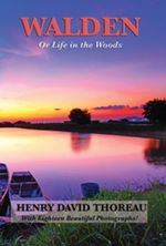 Walden (Or Life in the Woods) (Illustrated Edition) : With linked Table of Contents - Henry David Thoreau