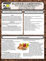 Flower Gardening : Ideas & Tips for Propagating Flowers and Creating Flower Beds - Olivia D. Ramsey