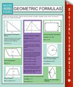 Geometric Formulas : Speedy Study Guides - Speedy Publishing