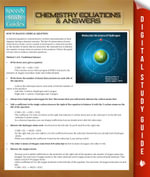 Chemistry Equations & Answers : Speedy Study Guides - Speedy Publishing
