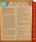 Math Common Core 4th Grade - Speedy Publishing
