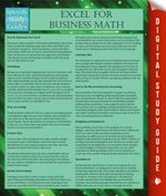 Excel for Business Math - Speedy Publishing