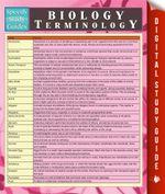 Biology Terminology - Speedy Publishing