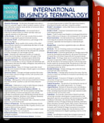 International Business Terminology (Speedy Study Guide) - Speedy Publishing