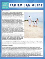 Family Law Guide (Speedy Study Guide) - Speedy Publishing LLC