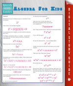 Algebra For Kids (Speedy Study Guide) - Speedy Publishing