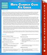 Math Common Core 4th Grade (Speedy Study Guide) - Speedy Publishing