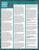 Math Common Core Algebra 1 (Speedy Study Guide) - Speedy Publishing LLC