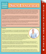 Sign Language : Speedy Study Guides - Speedy Publishing