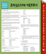 English Verbs : Speedy Study Guides - Speedy Publishing