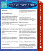 CPR & Choking Relief : Speedy Study Guides - Speedy Publishing