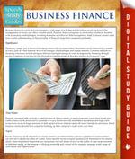 Business Finance (Speedy Study Guides) - Speedy Publishing