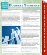 Business Statistics (Speedy Study Guides) - Speedy Publishing