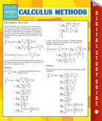Calculus Methods (Speedy Study Guides) - Speedy Publishing