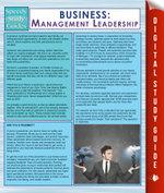 Business : Management Leadership (Speedy Study Guides) - Speedy Publishing