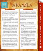 APA/MLA Guidelines (Speedy Study Guides) - Speedy Publishing
