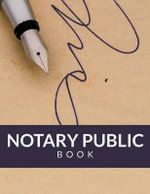 Notary Public Book - Speedy Publishing LLC