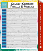 Common Grammar Pitfalls And Mistakes (Speedy Study Guides) - Speedy Publishing