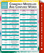 Commonly Misspelled And Confused Words (Speedy Study Guides) - MDK Publishing