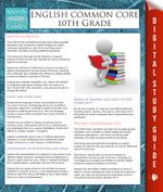 English Common Core 10th Grade (Speedy Study Guides) - Speedy Publishing