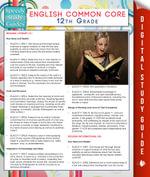 English Common Core 12th Grade (Speedy Study Guides) - Speedy Publishing