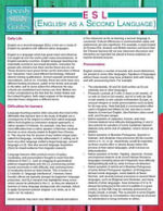 ESL (English as a Second Language) (Speedy Study Guides) - Speedy Publishing LLC