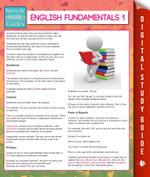 English Fundamentals 1 (Speedy Study Guides) - Speedy Publishing