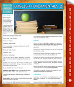 English Fundamentals 2 (Speedy Study Guides) - Speedy Publishing