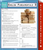 English Fundamentals 3 (Speedy Study Guides) - Speedy Publishing