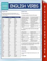 English Verbs (Speedy Study Guides) - Speedy Publishing
