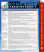 Home Loan Terminology 2 : Speedy Study Guides - MDK Publishing