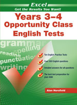 Excel : Opportunity Class English Tests Year 3-4 - Alan Horsfield