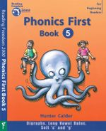 Phonics First : Book 5 - Hunter Calder