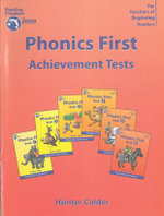 Phonics First Achievement Tests : Reading freedom 2000 program - Hunter Calder