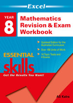 Excel Maths Revision & Exam Workbook : Year 8  - Excel