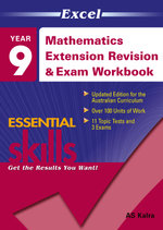 Excel Mathematics Extension Revision and Exam Workbook : Year 9  - Excel